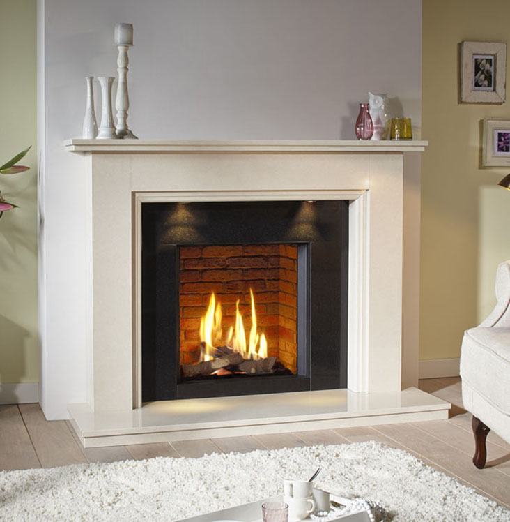 DRU Global 55XT CF contemporary Fireplace