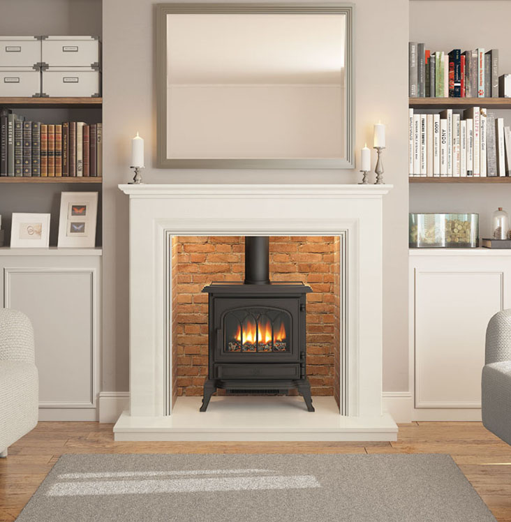 ELGIN & HALL Odella contemporary Fireplace