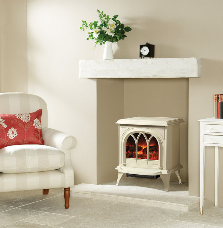 Gazco Huntingdon Electric Stove electric Fire