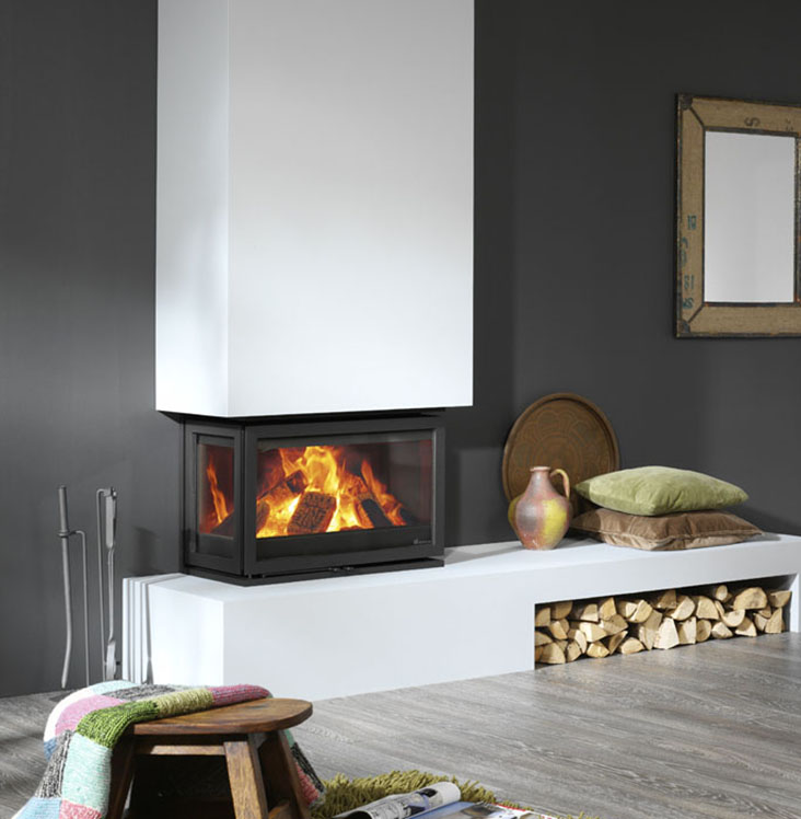 Dik Geurts - Instyle Triple Cassete inset stove