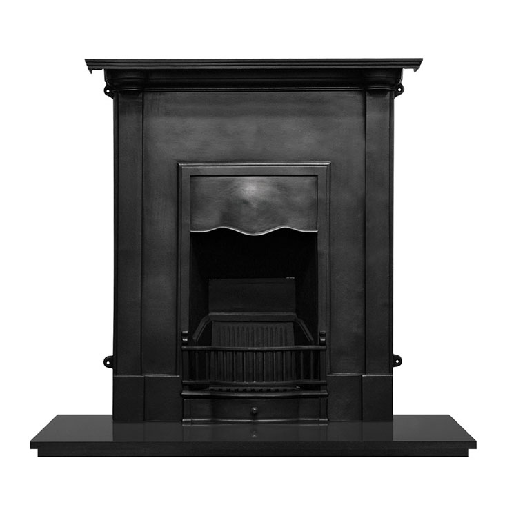 Carrron Abingdon Cast Iron traditional fireplace