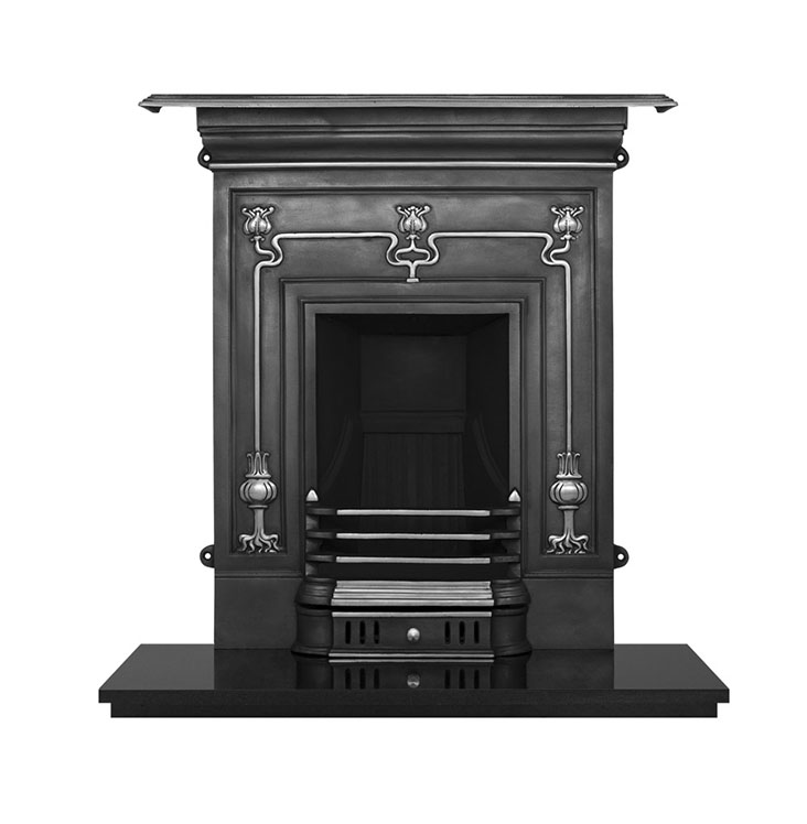 Winchester Cast Iron traditional fireplace