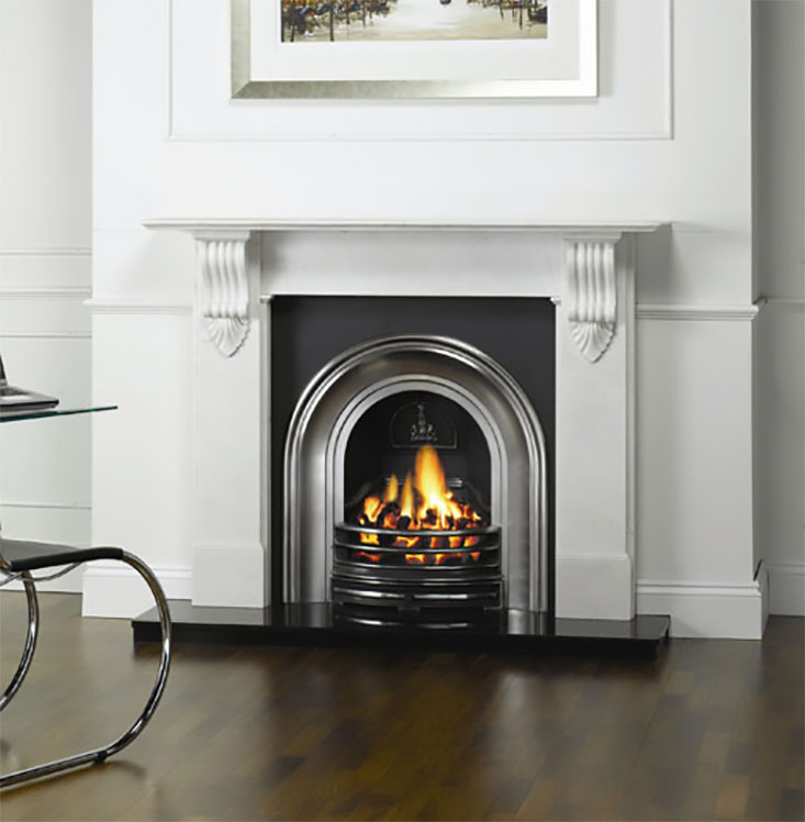 STOVAX CLASSICAL ARCHED INSERTS traditional fireplace