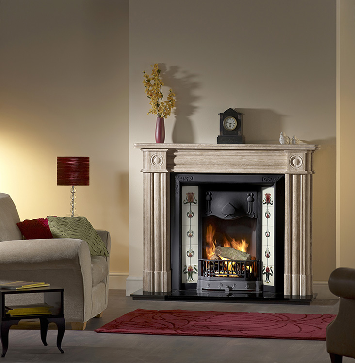 CAPITAL REGENT MANTEL traditional fireplace
