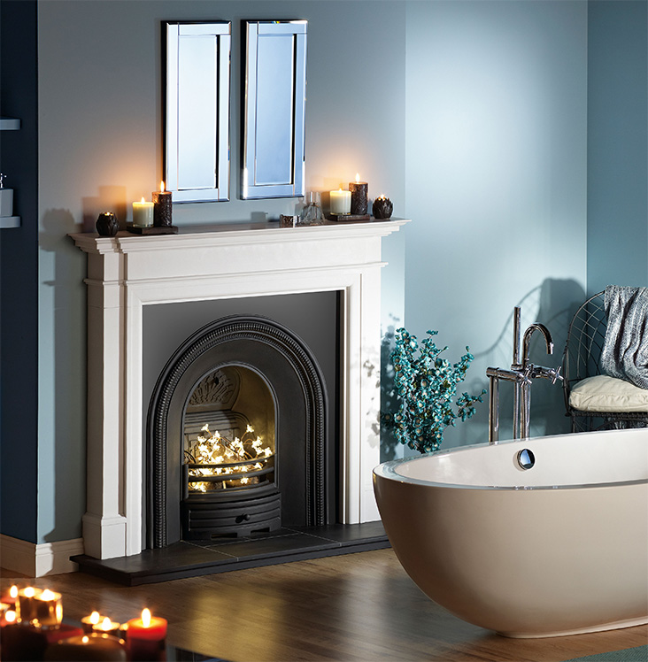CAPITAL KENSINGTON MANTEL traditional fireplace
